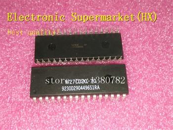 цена на Free Shipping 50pcs/lots W27C020-70  W27C020  DIP-32  New original  IC In stock!
