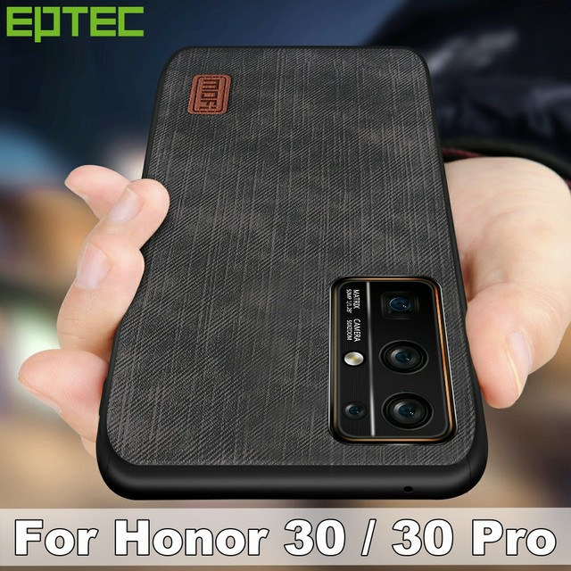 MOFi for Honor 30 Pro Case for Huawei Honor30 30Pro Cover Housing Silicone  Shockproof Jeans PU Leather Back TPU Dustproof