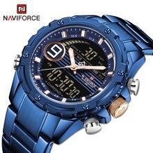 Sport Watch Quartz-Clock Military Waterproof Casual Men Luxury Relogio NAVIFORCE Masculino