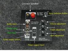 Ghxamp tpa3116 2.0 estéreo bluetooth amplificador placa tpa3116d2 50w + 50w all-digital fibra óptica coaxial bluetooth 5.0 novo