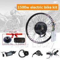 50 60km/h speed 48V 1500W e bike conversion kit 1500W Wheel Motor Rear for 20 29inch 700C electric bike kit 1500w