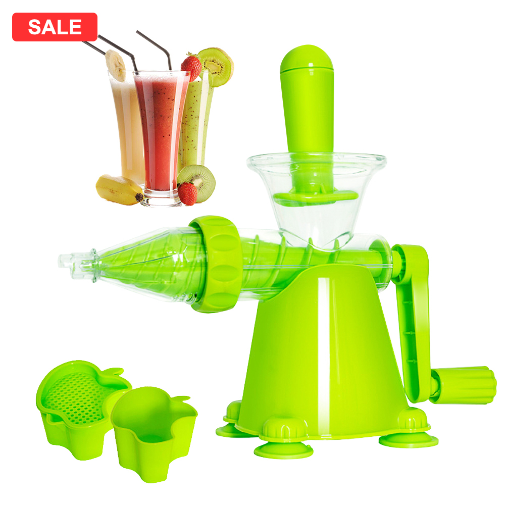 Manual Hand Juicer Multifunction Portable DIY Juicer Health Kitchen Tools Portable Fruit Juice Maker Bottle Smoothie Machine