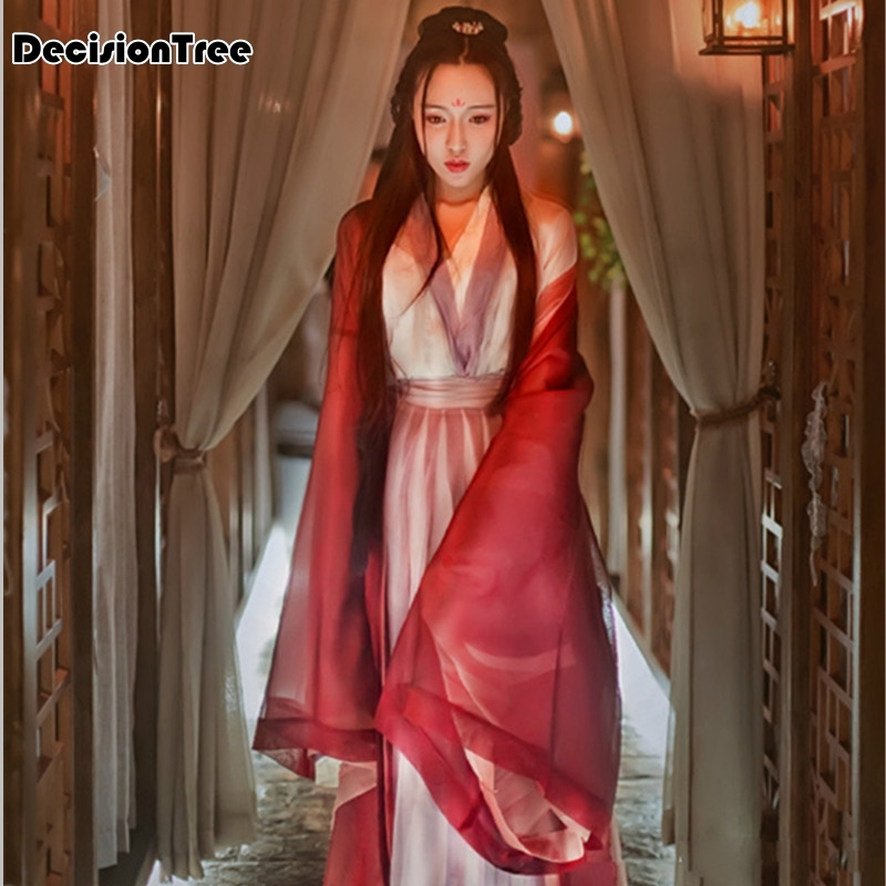 2020 Women's Ancient Tang Dynasty Empress Dress Traditional Hanfu Cosplay Clothing Women Chinese Ancient Costume