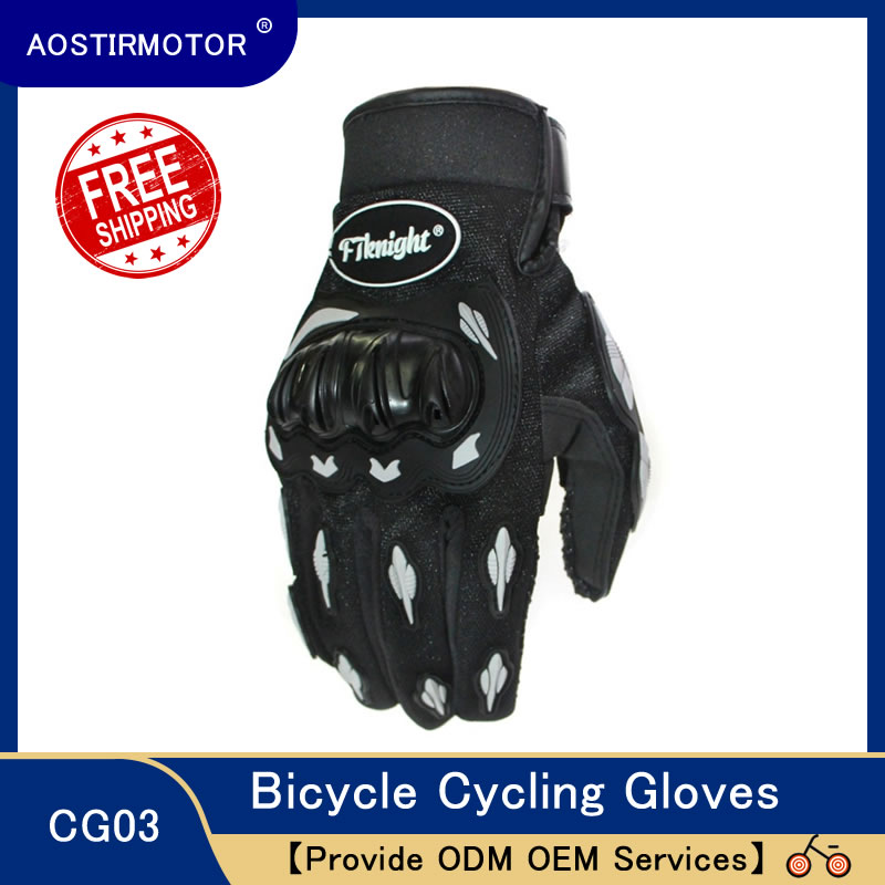 AOSTIRMOTOR Cycling Gloves Bicycle Riding Gloves Women Men Anti Slip Outdoor Winter Summer Sport Motorcycle Protective Gloves