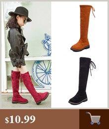 Meninas na altura do joelho-botas altas princesa
