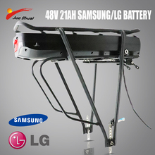 High Quality 48V 10/12/16/18/21AH Samsung Battery E Bicycle Battery Rear Rack  With Layer Luggage For MTB E-Bicycle Rear Rack
