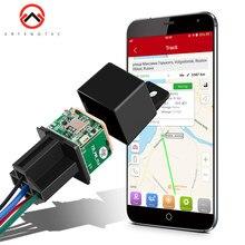 Relais GPS Tracker Auto Alarm Schnitt Kraftstoff Motor 9-90V DC Fahrzeug Motorrad GPS Tracker Geo zaun micodus Lebensdauer Freies APP