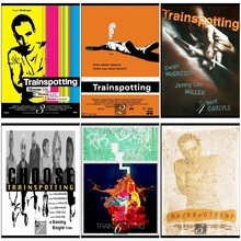 Trainspotting Classic Movie Home Decorative Painting White Kraft Paper Poster 42X30cm
