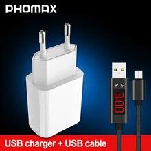 PHOMAX USB 充電器 3.0 18 ワット高速電話充電器 iphone X xs 8 7 アプリ三星銀河 s8 s9 銀河 HTC Xiaomi mi8 Huawei 社ネクサス
