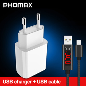 Image 1 - Phomax usb 충전기 3.0 18 w 빠른 전화 충전기 아이폰 x xs 8 7 ipad 삼성 갤럭시 s8 s9 갤럭시 htc xiaomi mi8 화웨이 넥서스