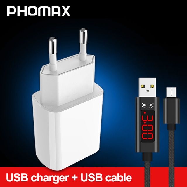 Phomax usb 충전기 3.0 18 w 빠른 전화 충전기 아이폰 x xs 8 7 ipad 삼성 갤럭시 s8 s9 갤럭시 htc xiaomi mi8 화웨이 넥서스