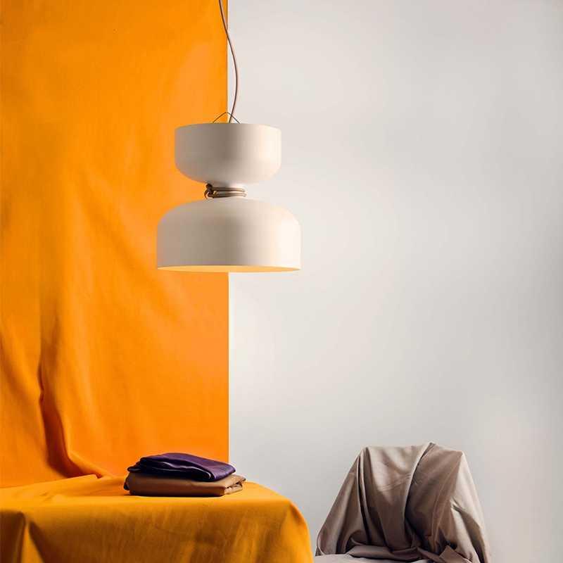 Датские современный хрустальные люстры Святой Грааль подвесные светильники черный, белый цвет Led E27 Железный искусства декоративное Внутреннее освещение Ресторан вилла Спальня