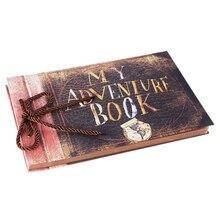 Album-Paste Photo-Album Book-Up Handmade DIY Vintage My-Adventure Family