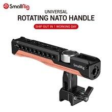 SmallRig A Sgancio Rapido Rotante Nato Maniglia dslr macchina fotografica maniglia stabilizzatore utilizzare come maniglia superiore e laterale maniglia 2362