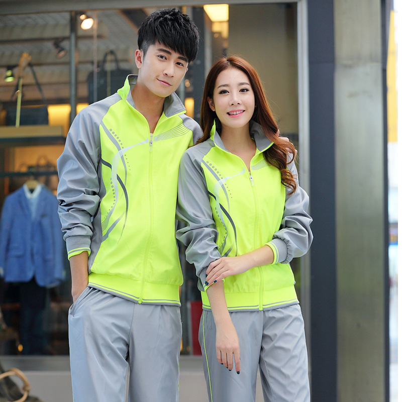 New Style Couples Leisure Sports Suit School Uniform Group Clothes Square Dance Groups Table Performance Clothing Factory