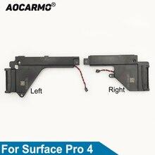 Aocarmo Rechts En Links Speaker Luidspreker Voor Microsoft Oppervlak Pro 4 Hoorn Sound Flex Kabel Vervanging Reparatie Fix Deel