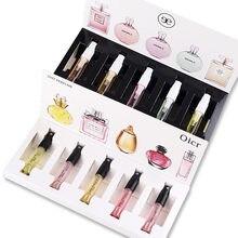 EAN la marca 1 Set Perfume para las mujeres De larga duración fresco Eau De Toilette 5 uds señora fruta Parfum con caja De regalo