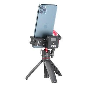 Image 5 - Ulanzi ST 08 Rode ワイヤレス行く電話ホルダーとコールド靴電話クリップマウント Led ライト Micrephone ビデオ三脚スタンド
