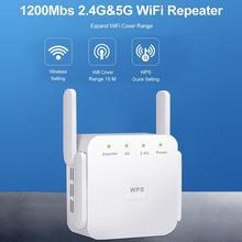 Bezprzewodowy 5G wzmacniacz sygnału Wifi 5ghz wzmacniacz sygnału Wi-Fi AC 1200 mb s wzmacniacza Wifi Repiter bezprzewodowy dostęp do internetu wzmacniacz 4 anteny 5G bezprzewodowy dostęp do internetu punkt dostępu tanie tanio BLUELANS wireless 10 100 mbps 1x10 100 1000 Mbps Brak 2 4g i 5g 867 mbps Wifi Repeater 5ghz Bezprzewodowy dostęp do internetu 802 11ac