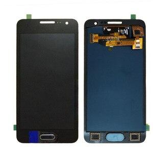 Image 3 - لسامسونج غالاكسي A3 2015 A300 A300F A300M A300FU شاشة إل سي دي باللمس الجمعية الشاشة سطوع قابل للتعديل 100% اختبار TFT LCD