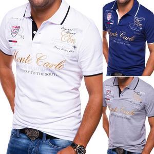 ZOGAA Men Polo Shirt Short Sle