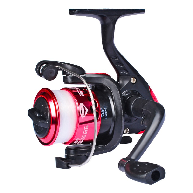 Nowy 5.2: 1 High Speed kołowrotki wędkarskie g-ratio Spinning Wheel Fishing szpula rolki Casting Flying Fishing tackle title=
