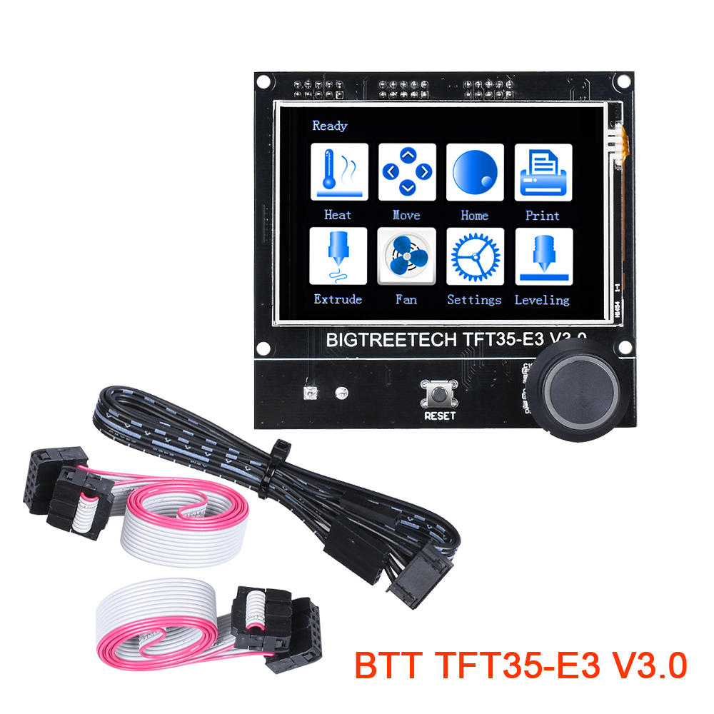 BIGTREETECH TFT35 E3 V3 0 Display Touch Screen 12864LCD Mode For 3D Printer Board SKR V1 3 MINI E3 PRO Ender3 Panel DIY WIFI MKS