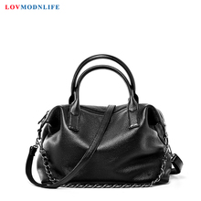 Luxury Womans Messenger Bag Chains Ladies Big Tote Bags For Women Famous Designer Handbags Genuine Leather Shoulder Bag 2020 New стоимость