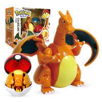 TAKARA TOMY-figura de acción de Pokémon, elfo Ball Variant, modelo de juguete Charizard Pocket Monsters, juguete de Pokémon, modelo de figura de acción, regalo