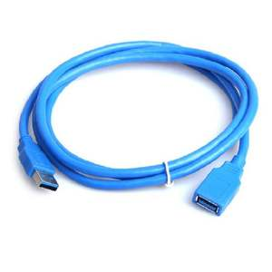 3FT Blue USB 3.0 Type A Male to A Female Super Speed Extension Cable Converter Adapter Computer Connection Cable