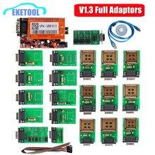 Mới Nhất UPA USB Nối Tiếp Lập Trình Viên V1.3 Xanh Adapter Full Tự Động ECU Điều Chỉnh Chip UUPROG EEPROM V1.3 ECU Lập Trình Viên Bộ Điều Hợp