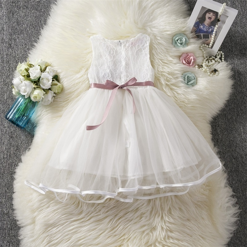 H1024e45687d14f87aef93d2cc8eb5787K Princess Kids Baby Fancy Wedding Dress Sequins Formal Party Dress For Girl Tutu Kids Clothes Children Backless Designs Dresses