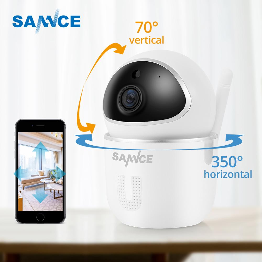 SANNCE Home Security IP Camera Wi-Fi 1080P Wireless Network Camera CCTV Camera Surveillance Night Vision Baby Monitor Cam