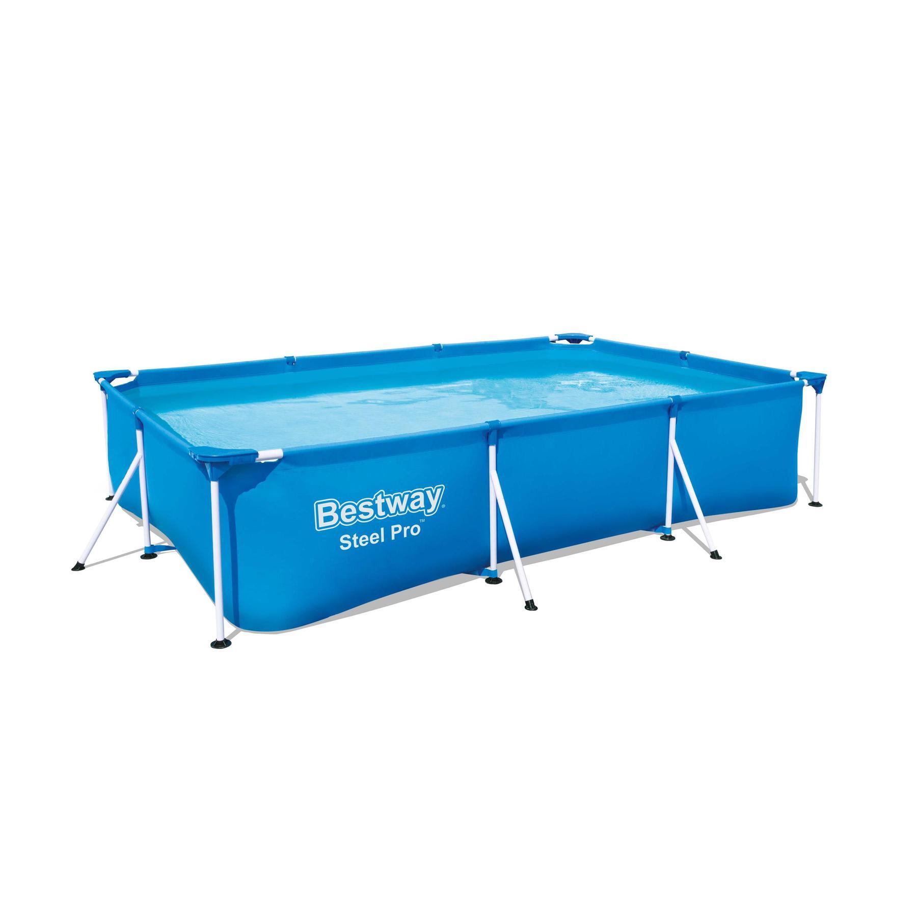 Scaffold Rectangular Pool 300 х201х66 Cm, 3300 L, Bestway Deluxe Splash, Item No. 56404