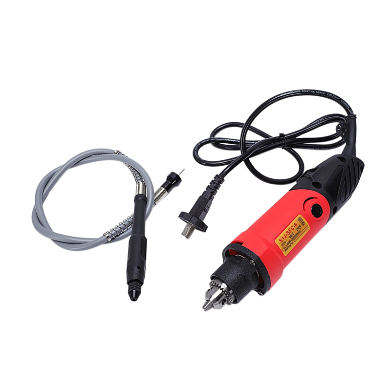 Us Plug,240W Electric Mini Drill For Rotary Power Tool Engraver Drilling Machine Grinder Abrasive Home Diy Tool