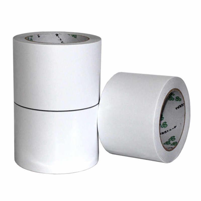 12 m dupla face fita adesiva dupla adesão forte magro super branco poderoso dobra enfrentou o esparadrapo para o escritório dos artigos de papelaria da escola