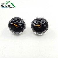 PCP Gauge 2pcs 2000psi Luminous Mini Micro High Pressure Manometre Manometer M10 *1