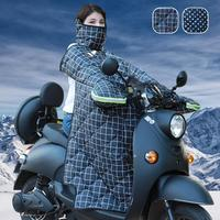 Scooters Leg Cover with Reflective Strip For Motorcycle Blanket Knee Warmer Thickened Waterproof Winter Quilt for Scooters Motor