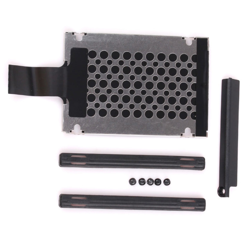 New Hard Drive Caddy Cover+Rails for IBM//Thinkpad//Lenovo X220 X220i X220 Tablet