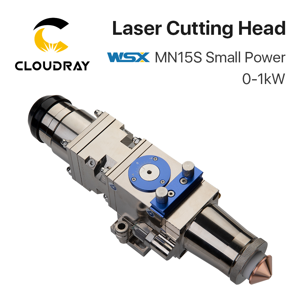 Cloudray WSX 0-1KW MN15S Small Power Fiber Laser Cutting Head Max Laser Power 1000W For Metal Cutting