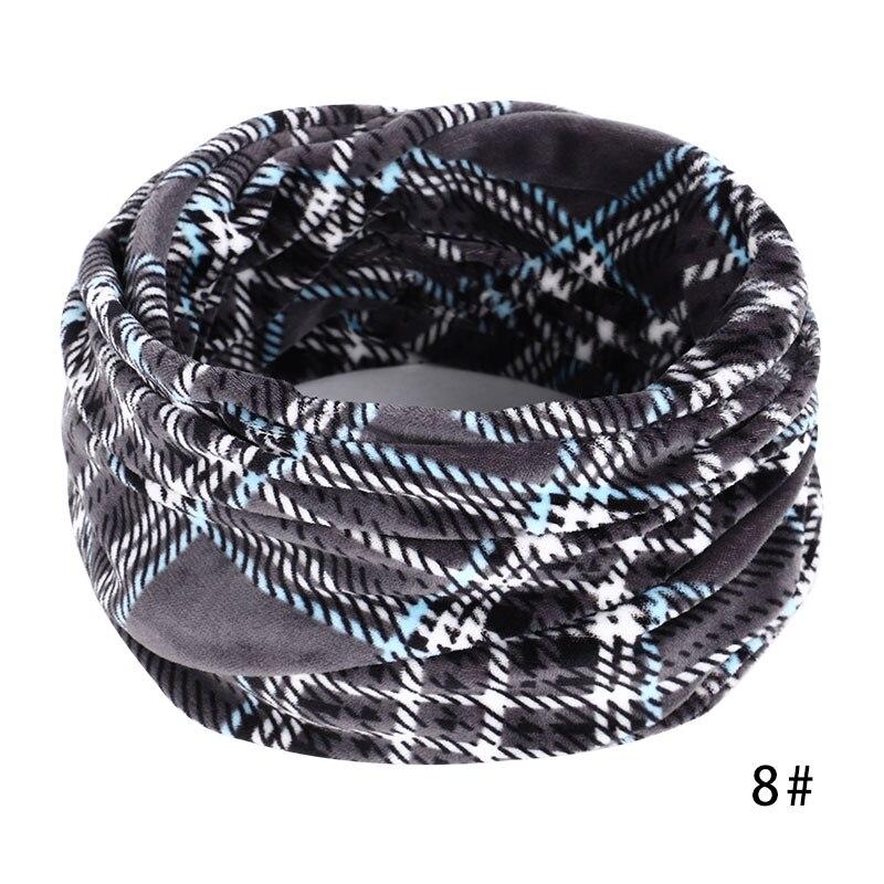 Новинка, осенне-зимний женский шарф с принтом для женщин, модный бархатный тканевый шарф, мягкий удобный женский винтажный шарф - Цвет: 8