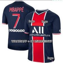 Nova camisa masculina 20 21 psges camisa masculina mtappe neymar cavani verratti kimpe dani alves di maria icardi herrander era 2022 camisa