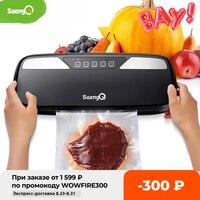 SaengQ Beste Elektrische Vakuum Lebensmittel Sealer Verpackung Maschine Für Home Küche Lebensmittel Schoner Taschen Kommerziellen Vakuum Lebensmittel Abdichtung