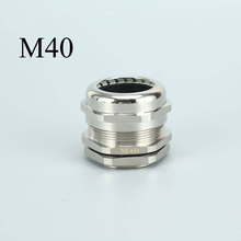Brass Cable Gland - M40/M42 Thread Waterproof Wire Gland Connector Fitting white 10pcs ip68 m12 for 3 6 5mm pg7 m16 m18 m20 m25 m36 m40 m63 wire cable ce waterproof nylon plastic cable gland connector