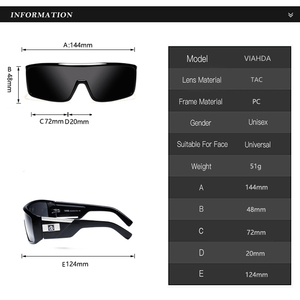 Image 3 - Viahda 2020 Fashion classic Sunglasses men Cool driving fashion vintage brand women Sun Glasses de sol