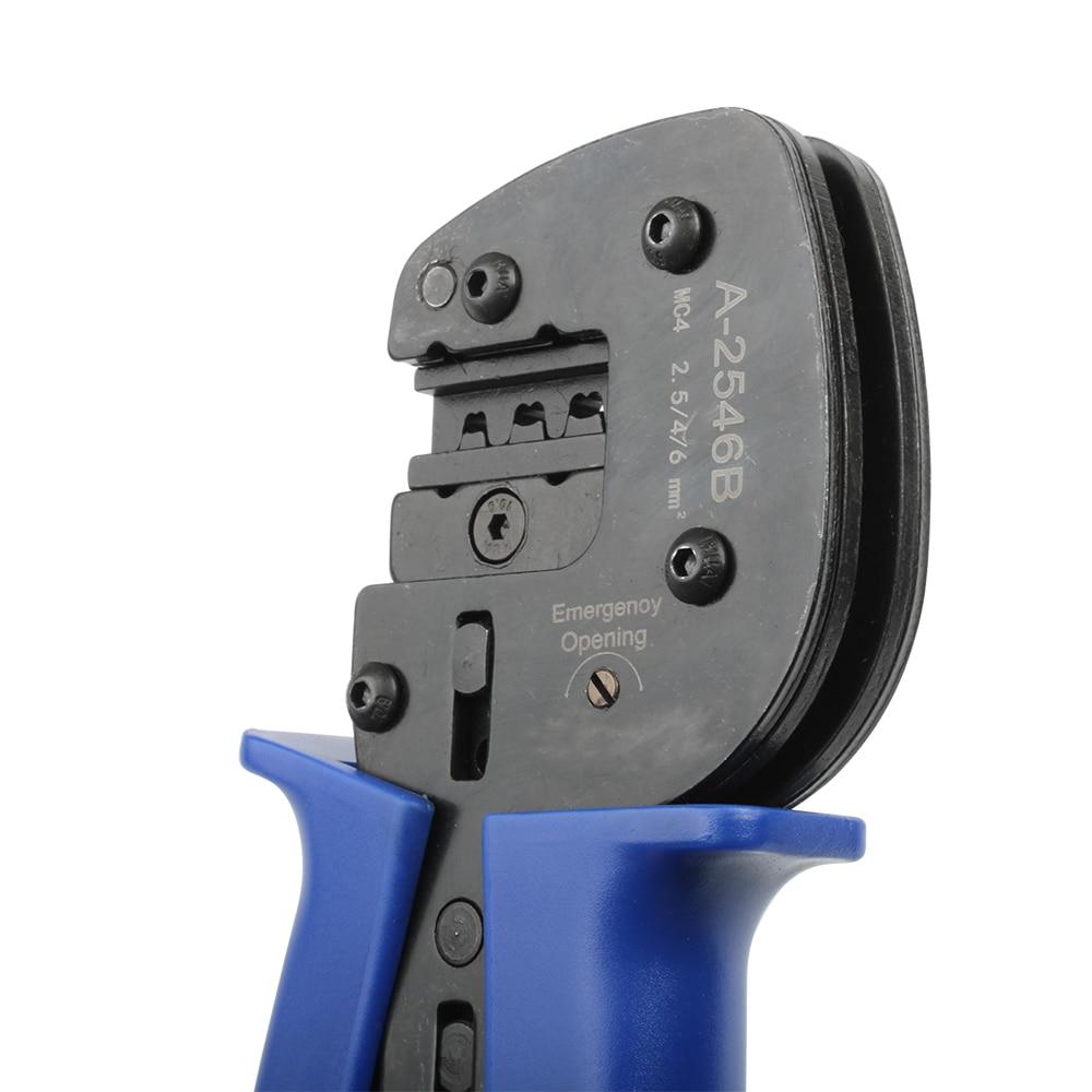 fotoroltaico solar mc4 ferramenta de friso 2.5-6mm2 B-2546