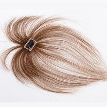 Allaosify Синтетические длинные прямые волосы, воздушная челка, черная Шпилька, челка, высокотемпературные волосы, Топпер с челкой, зажим для наращивания