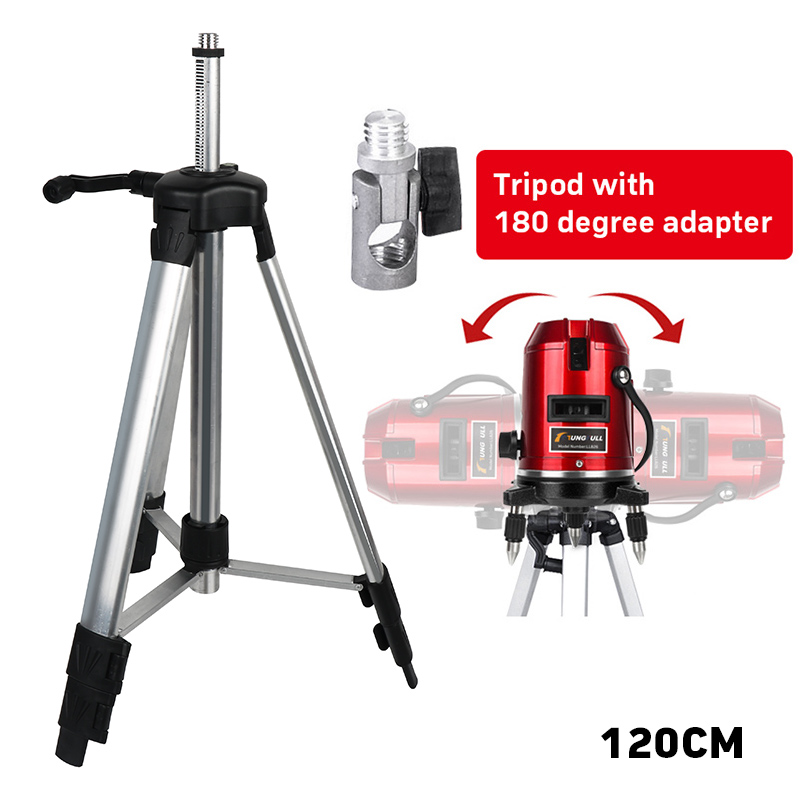1200mm maximum height 5/8 thread coated aluminum high quality stand or tripod for 360 rotary laser