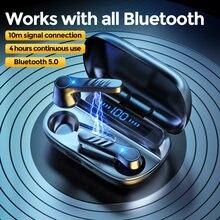 Fones de ouvido para smartphone i12 tws 5.0 fones de ouvido bluetooth sem fio gaming fones com microfone estéreo toque