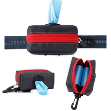 Portable Pet Waste Dog Poo Pick Up Bags Poop Bag Holder Hook Pouch Travel Convenientc Pooper Scoopers Housebreaking Products